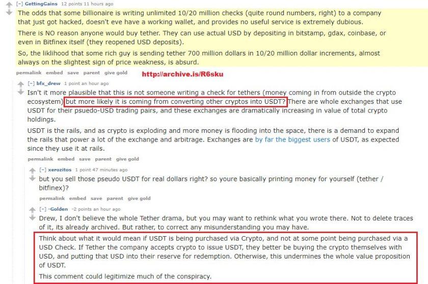 Tether Ltd и Bitfinex: сговор на рынке криптовалют