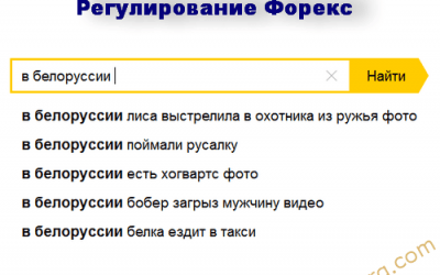 Беларусь-Белоруссия станет Форекс Меккой