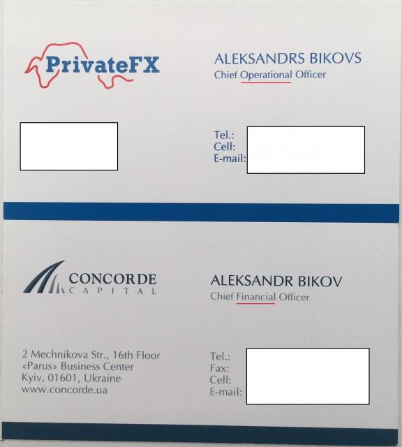 Александр Быков PrivateFX Concorde Capital