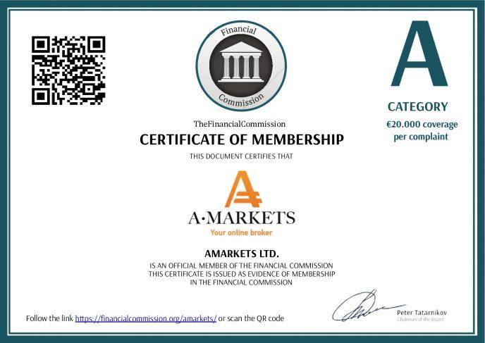 Регулирование AMarkets